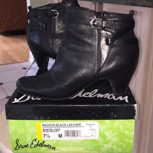 Leather boots size 7.5